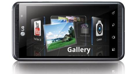Lg Optimus 3D Galeries, premier smartphone 3D