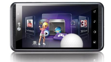 Lg Optimus 3D jeux, premier smartphone 3D