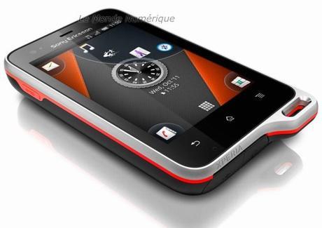 Smartphone Sony Ericsson Active, pour les sportifs qui veulent un mobile étanche et résistant à la poussière sous Android