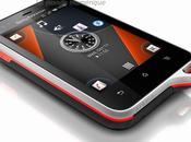 Smartphone Sony Ericsson Active, pour sportifs veulent mobile étanche résistant poussière sous Android
