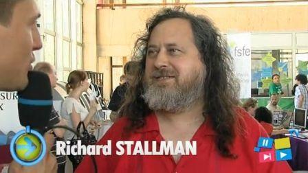 Richard Stallman RMLL 2011
