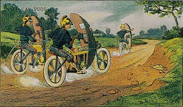 2000 AS SEEN IN 1910 BY VILLEMARD #1