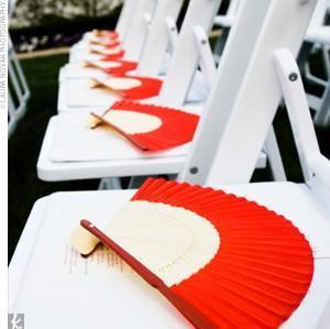 Decoration de mariage rouge