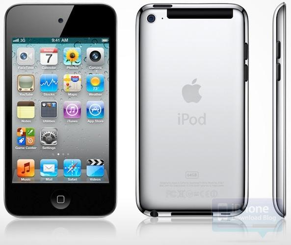 Concept : iPod Touch 5 compatible 3G