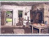 L'intérieur habitations Moyen-Âge