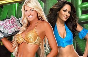 L'affiche du championnat des Divas à Money in the Bank 2011