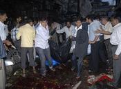 Trois attentats Bombay soir