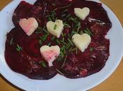 Carpaccio betterave cantal