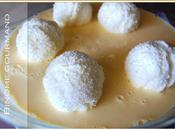 Boules neige crème anglaise (îles flottantes)