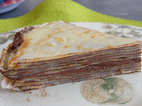 Gâteau De Crêpes Au Chocolat à Découvrir
