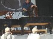 """Carte blanche Bert Caenegem blanche"" Lander Gyselinck Brosella Jazz, Parc Verdure, Bruxelles, juin 2011"