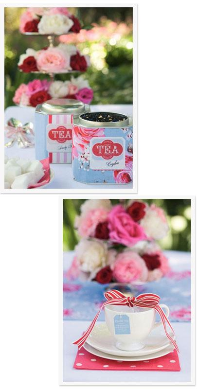 Tea Time DIY Wedding Freebies at Styleguide