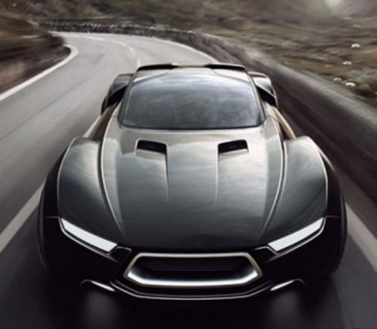 Image ford mad max interceptor concept 2 550x479   Ford Mad Max Interceptor