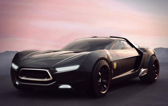 Image ford mad max interceptor concept 1 550x345   Ford Mad Max Interceptor