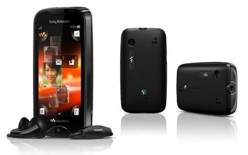 Sony Ericsson : Mix Walkman, TxT, Xperia ray et Xperia active