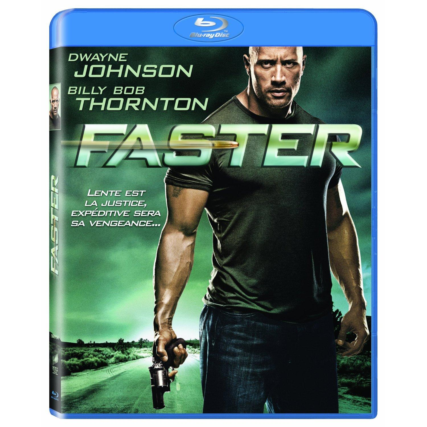 Faster : un Blu-ray solide comme The Rock
