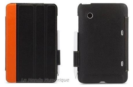 Protégez votre tablette HTC Flyer avec un étui astucieux en cuir véritable