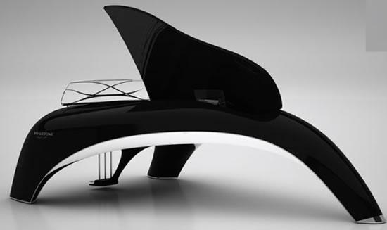 Piano Design Whaletone par Robert Majkut