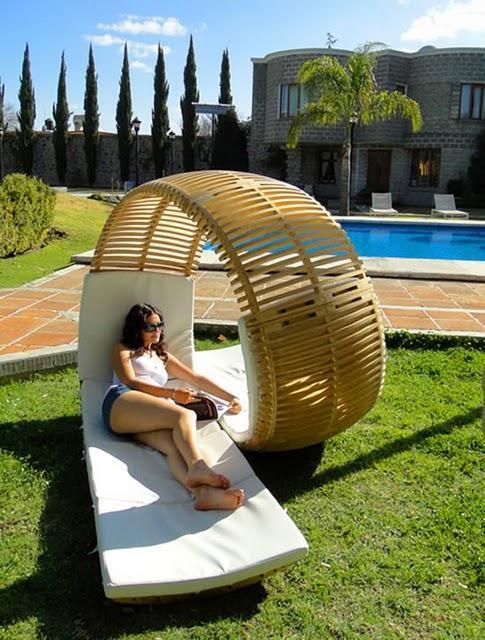 Double transat jardin - Design en image