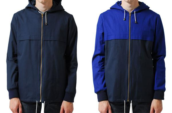 A.P.C. X K-WAY – F/W 2011 – CAGOULE WINDBREAKER
