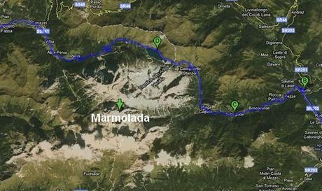 La Marmolada, reine des Dolomites