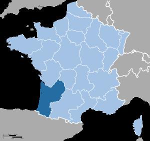 France location Aquitaine.