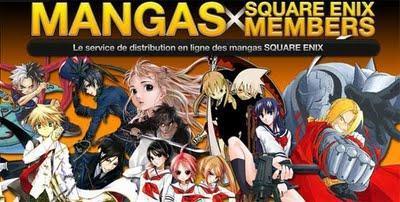 Un manga numérique offert par Square Enix