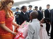 Chantal Biya Chine amitié palpable