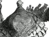 corset crinoline lignes caricaturales d'un corps social XIXe siècle dessine.