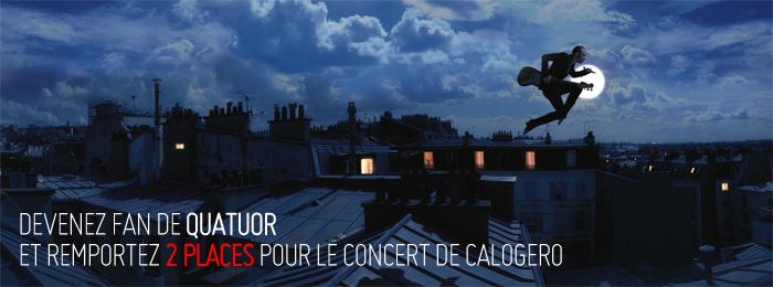 Remportez 2 places pour le concert Sold-out de Calogero