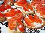 Tartelettes tomates, mascarpone basilic