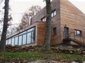Maison bois,passive design.