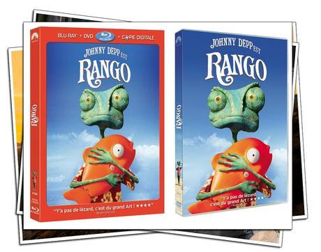 [NEWS] RANGO SORT AUJOURD'HUI EN BLU-RAY/DVD