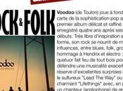 Rock Folk chronique VOODOO Août 2011
