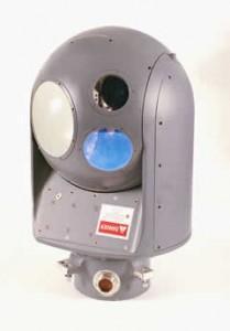 TOPLITE EOS, la boule optronique de Rafael intégrée sur la tourelle Mk38 et Typhoon mK25, et dont les senseur dérvient du pod de désignation Litenings