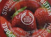 sauveur l'été beurre corporel fraise Body Shop