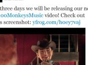 Dans trois jours nouveau clip Jackson Rathbone Monkeys