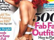 Rihanna couverture magazine Glamour, Septembre 2011