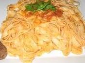 Tagliatelles maison tomate parmesan