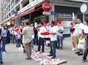 Manifestation devant Consulat syrien