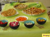 Buffet végétarien home made & petites idées gourmandes pour apéritifs entre amis