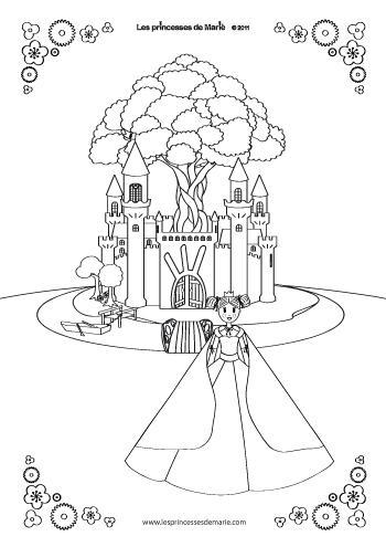 princesse-louise-coloriage-Les-princesses-de-Marie