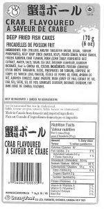 Alerte alimentaire - Bactéries dangereuses dans des produits à base de surimi - Canada