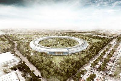 Le nouveau campus d'Apple