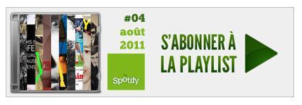 Playlist 4 : aout 2011