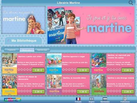Martine débarque sur l'App Store