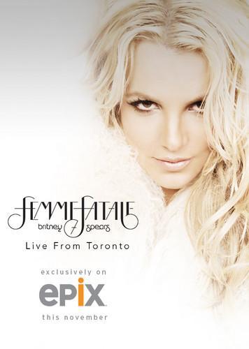 Britney Spears : le Femme Fatale tour bientôt diffusé en tv