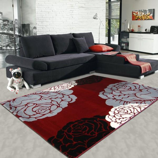 tapis contemporain salon. Black Bedroom Furniture Sets. Home Design Ideas
