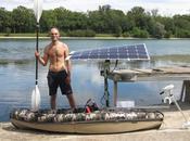 kayak avec panneau solaire
