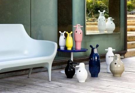 Vases Showtime par Jaime Hayon pour Bd Barcelona